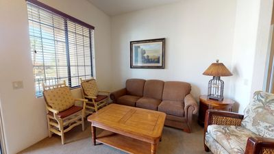 Photo for A Secluded Upstairs One Bedroom, One Bathroom Condo in the Heart of La Quinta
