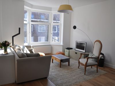 Photo for Spacious Flat - Sunny roof terrace