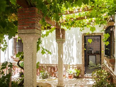 Photo for In Spanish country house with pool - Apartamento La Jandeta 2