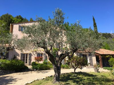 Photo for Beautiful Villa With Heated Pool, Big Lovely (Olive) Garden and Stunning Views!