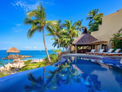 Photo for LUXURY VILLA RIGHT ON THE BEACH