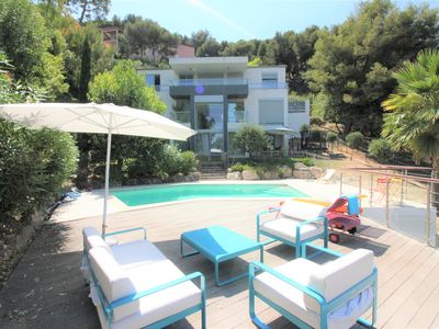 Photo for Exceptional! Villa on 3 floors / Swimming pool / Barbecue