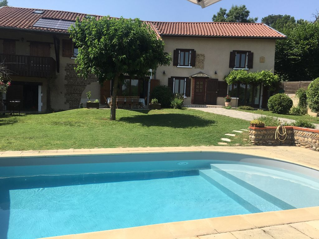 Maison Bois Kit Rhone Alpes beautiful charming house with pool in the countryside - la côte-saint-andré