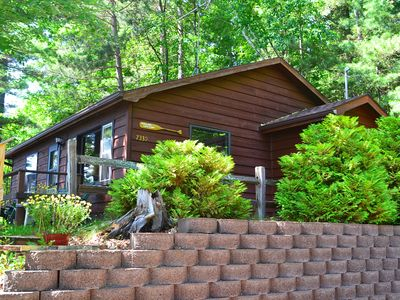 Photo for On Lake Tomahawk - Charcoal Grill, Firepit, Deck w/Views of Lake - Swimming