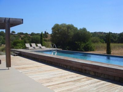 Photo for Villa 203 Private Pool, 4 Bedrooms, Air-conditioned Pianottoli