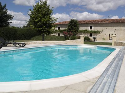 Photo for Stunning gite With Shared Pool, Nr Matha & Cognac (ground floor also available)