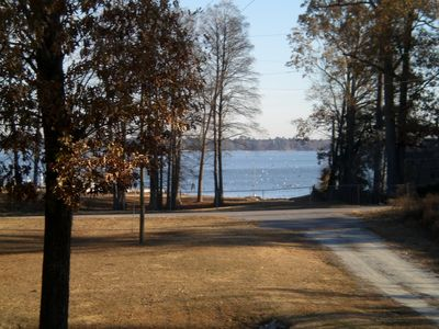 A view of Lake Marion from the Wrap-A-Round Porch.