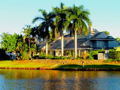 Photo for Large Private Villa & Pool in Pelican Bay on Lake
