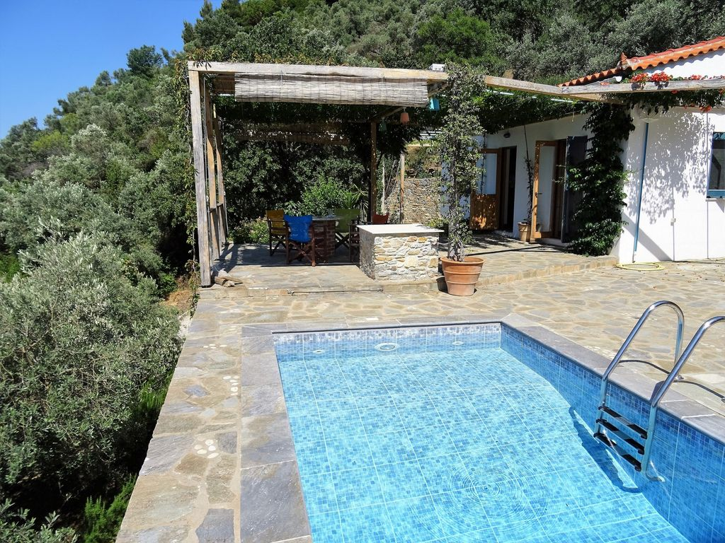 Ysyhia Cottage With Private Pool And Sea Views Glossa Skopelos Aegean Islands Rentbyowner