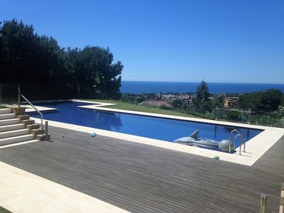 Photo for Fabulous New Townhouse Panoramic Sea Views In Sierra Blanca, Marbella