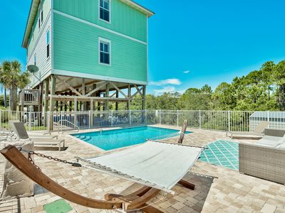 """Photo for """"Heavenly View"""" Spectacular Gulf Views! Private Heated Pool! Newly Furnished!"""