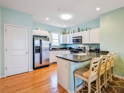 Photo for Large 4BR Townhome- Close To Beach, Boardwalk & Fun! Available to HS Seniors