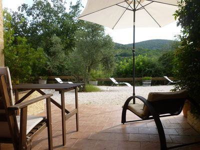 Photo for Studio with lovely view, in the countryside of the Var, Provence.