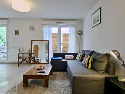 Photo for BRIGHT APARTMENT - MONTPELLIER - PARC MARIANNE - 4 PEOPLE