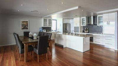 Photo for Lake Macquarie Waterfront Home with jetty