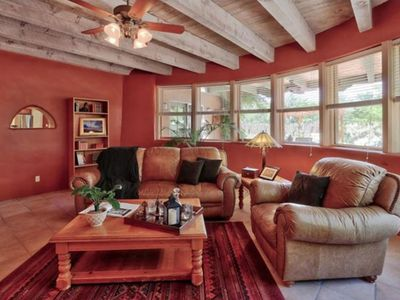 Photo for Charming Adobe Home In Corrales New Mexico