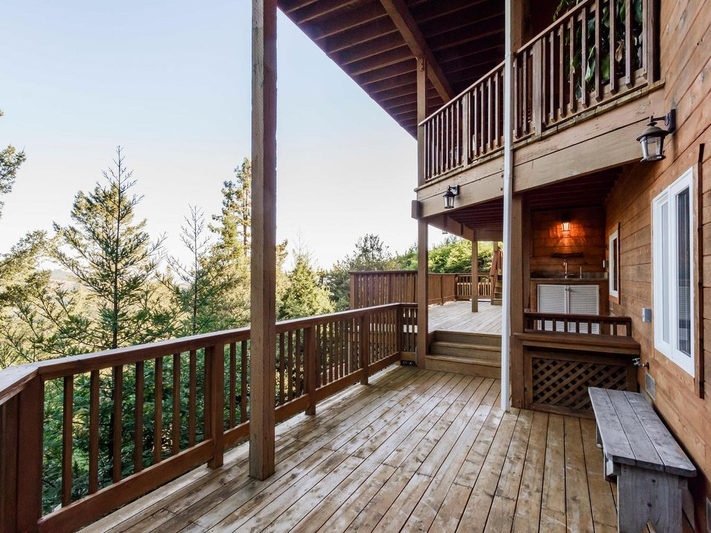 Artistic sanctuary in the Mill Valley Redwoods