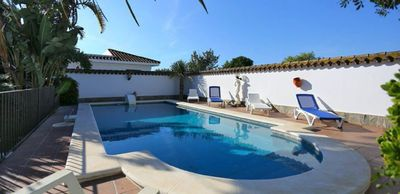 Photo for With charming garden and pool - Casa El Madroño