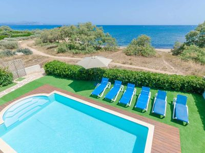 Photo for YourHouse Can Tugores - holiday house for 8 people, sea views and pool