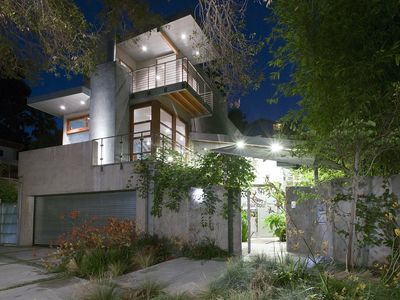 An Architectural Masterpiece set in the Santa Monica Canyon.