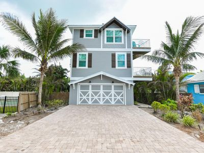Photo for GULF VIEW BEACH HOUSE!  CHAIRS, WAGON, TOYS, & BIKES AVAILABLE!