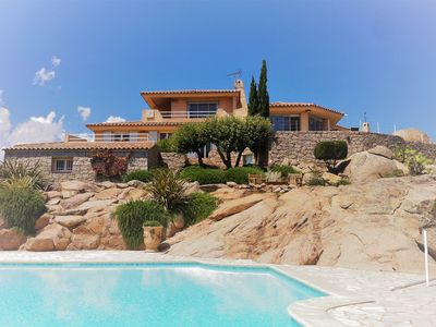 Photo for Private domain of Cala d'Oro between Santa Giulia and Palombaggia