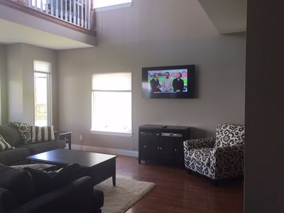 Great Room and Smart TV