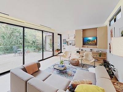 Photo for New Listing! South Austin Stunner w/ Private Deck: Walk to 1st St & Congress