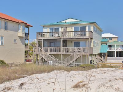 Photo for Finally There - 3 Bed / 2 Bath Gulf Front Townhome in Cape San Blas