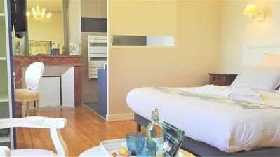 Photo for Bed and Breakfast Angevine between Nantes and Pornic 4 ears, indoor pool