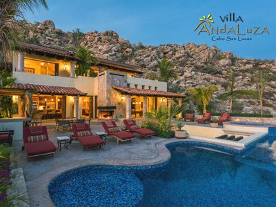 Photo for Private Luxury Villa in Pedregal Overlooking Ocean w/ Concierge & in-house Chef