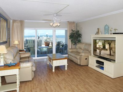 Photo for Direct Oceanfront – Spacious Ground floor