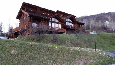 Photo for Amazing Steamboat Log Home With Majestic Views-Walk To Gondola-Dogs Okay