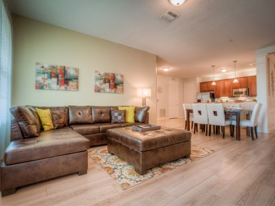 Photo for Freshly renovated 3 bedroom lake view condo with all new furniture.