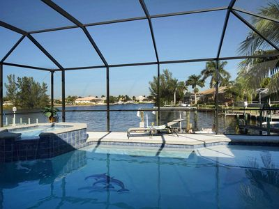 Photo for 25% OFF! -SWFL Rentals - Villa Ashlyn - Large Gulf Access Heated Pool Home Sleeps 6