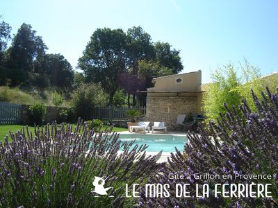 Photo for comfortable cottages in mas of character located in Drôme Provençal