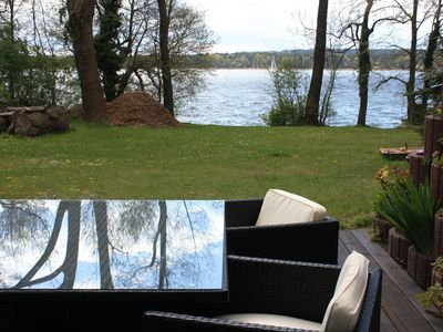 Photo for Suite directly on the lake, very private - Ferienhof Löschebrand