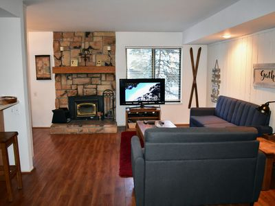 Photo for Bright corner condo overlooking the pool, #153 is close to the shuttle stop
