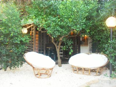 Photo for Chalet between Etna, Taormina and the sea with orchard, ideal for families with animals.