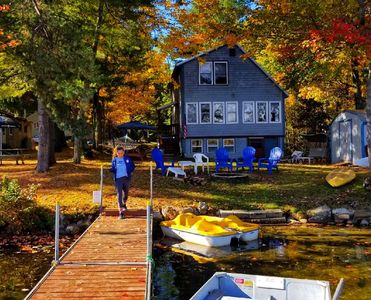 Fall colors from the dock