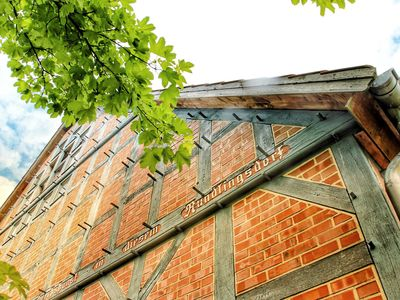 Photo for Relaxation in the beautiful Lüneburg Heath - Beautiful half-timbered house