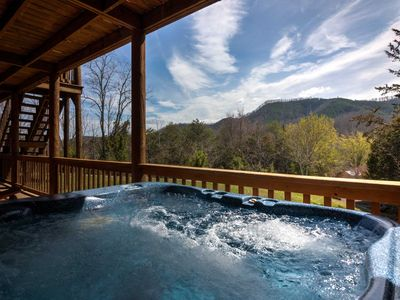 """Photo for """"Smoky Bear Lodge With Guest House"""" Great for Family Reunions and Large Group Getaways."""