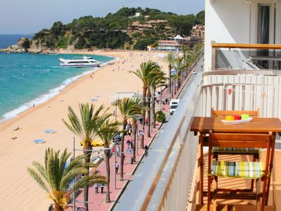 Photo for Lloret de Mar Apartment, Sleeps 7 with Free WiFi