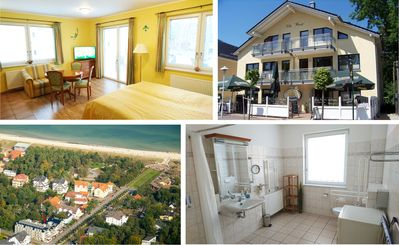 """Photo for Apartment """"summer"""" - Villa Wauzi - 150 m z. Beach, flooded with light, barrier-free"""