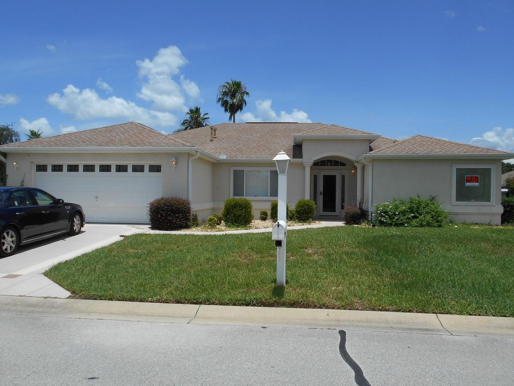 Golf Course Home Spruce Creek Del Webb Country Club Close To Villages Aug 2021 Candler Florida Fl Usa