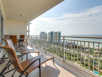 Photo for Beachview condo w/Jacuzzi tub, access to fitness center, & shared tropical pool