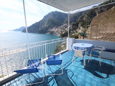 Photo for 1BR Apartment Vacation Rental in Positano, Campania