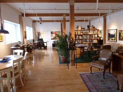 Photo for Exceptional Artist's Loft in Montreal's hip Plateau