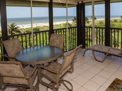 Photo for Gulf Front, Two Bedroom Condo - Sanddollar C304