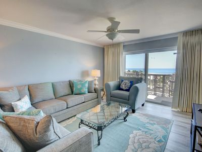 Photo for Recently remodeled condo with spectacular views of the Gulf of Mexico!